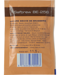 Levures de brassage - Safbrew BE-256 Dried Yeast 11g