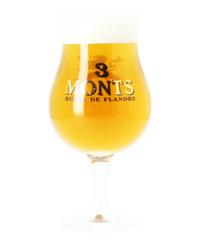 Verres à bière - Verre 3 Monts Tulipe - 33 cL