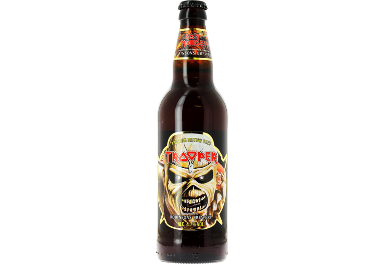 Bouteilles - Iron Maiden Trooper Limited Edition