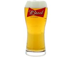 Ölglas - glass Bud - King of Beers