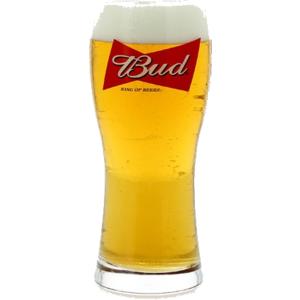 glass Bud - King of Beers