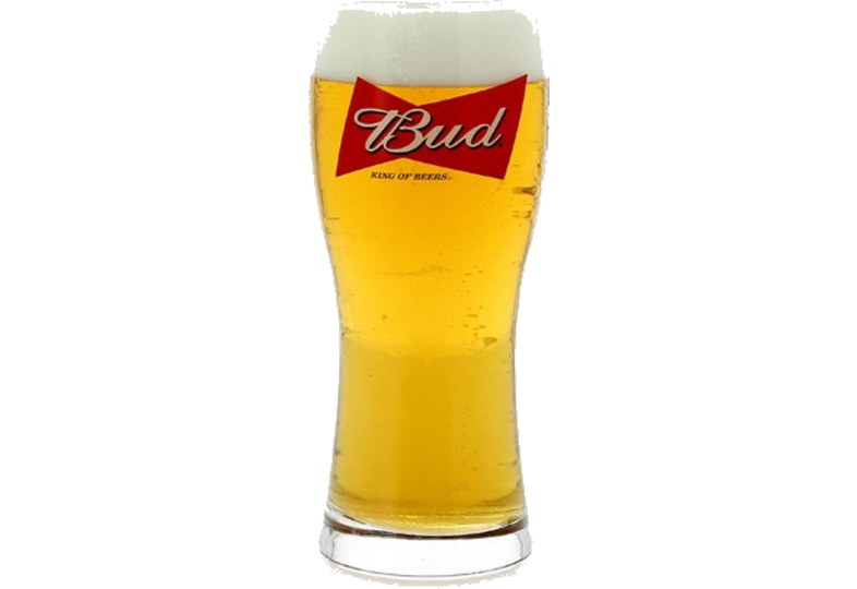Bierglazen - Verre Bud - King of Beers