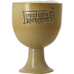 Beer glasses - Rochefort earthenware goblet beer glass