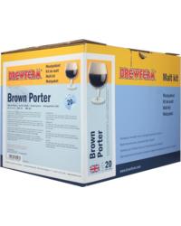 Moutpakket - Moutpakket 100% graan Brewferm Brown Porter