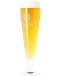 Bierglazen - Fluitglas Pilsner Urquell wit logo