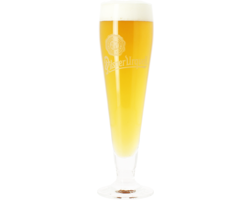 Beer glasses - Pilsner Urquell - 25cl Flute Glass (White Logo)