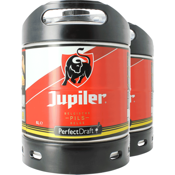 Jupiler Pils 6 litre PerfectDraft Keg - Twin Pack