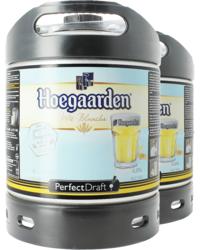 Fûts de bière - Pack 2 fûts 6L Hoegaarden