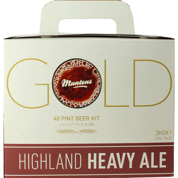 Gold Highland Heavy Ale Beer Kit - Muntons
