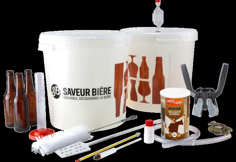 Kits de brassage - Kit de brassage complet pour kit à bière brune d'abbaye