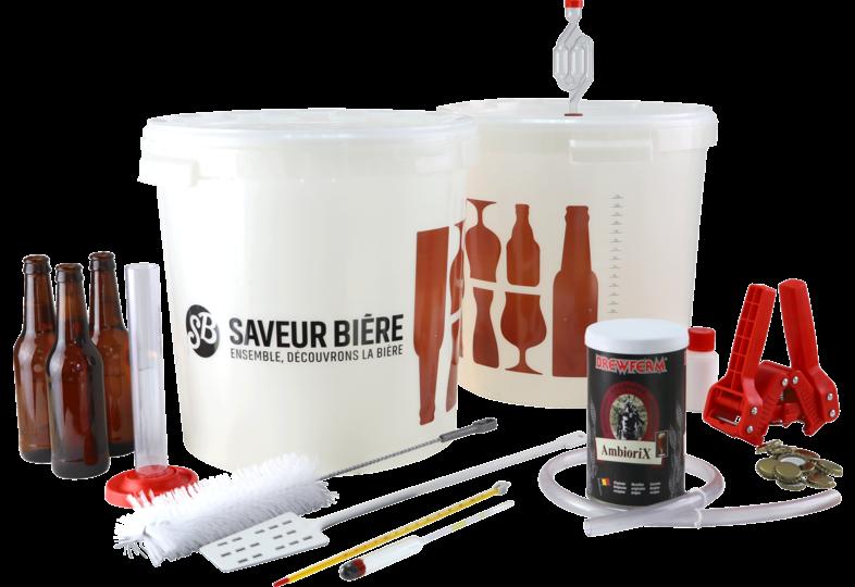 Kits de brassage - Complete Brewing Starter Kit Amber Beer