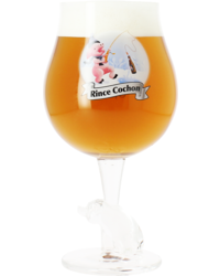 Biergläser - Verre Rince Cochon Hiver 50 cL