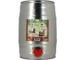Fusti di birra - Fusto 5L La Mascotte Hiver