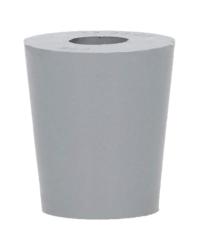 Dames-Jeannes - Tappo in caucciù da 17 a 22 mm + foro di 4 mm