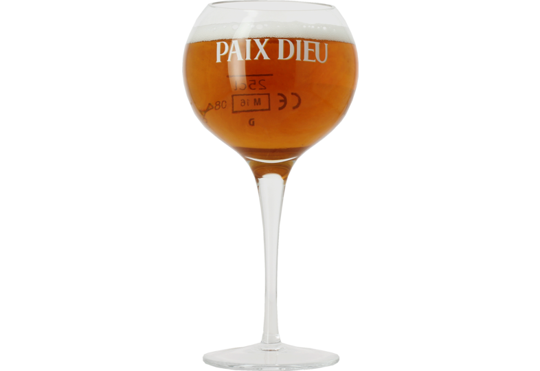Beer glasses - Paix Dieu 25cl glass