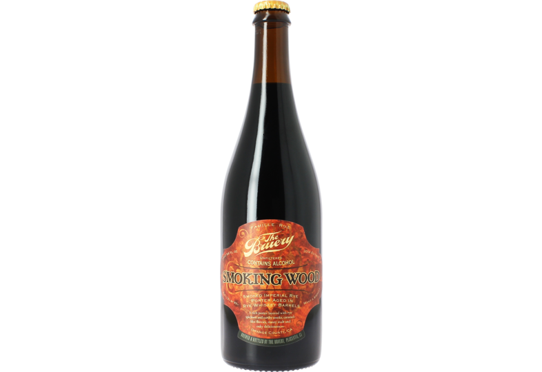Bouteilles - The Bruery Smoking Wood (Rye)