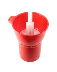Bottelen -  Roterende flessenspoeler voor druiprek