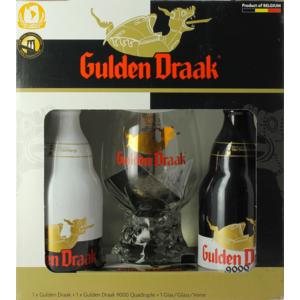 Giftpack Gulden Draak (2 Flessen 1 Glas)