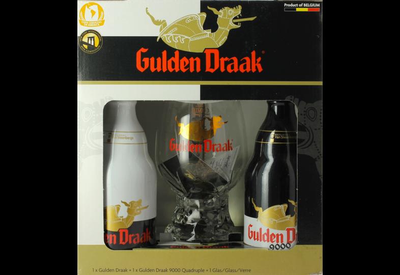Accessoires et cadeaux - Coffret Gulden Draak (2 bières 1 verre 50cl)