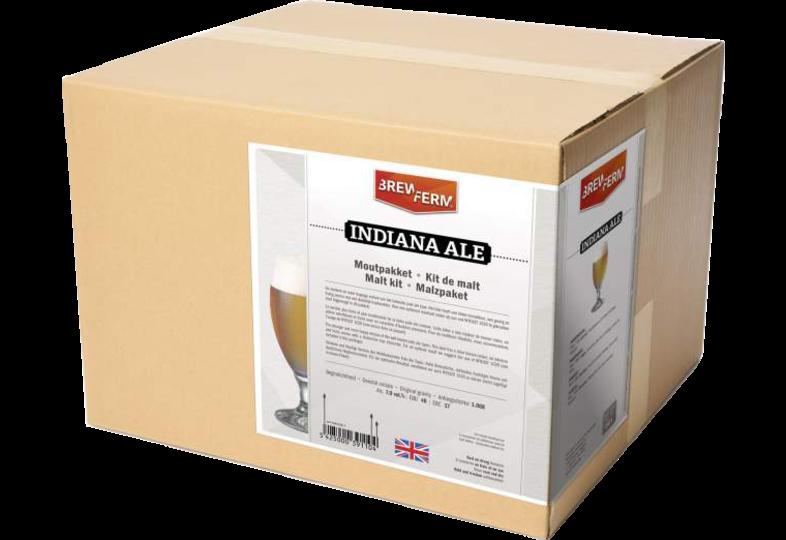 Kit à bière tout grain - Kit de malt tout grain Brewferm Indiana Ale