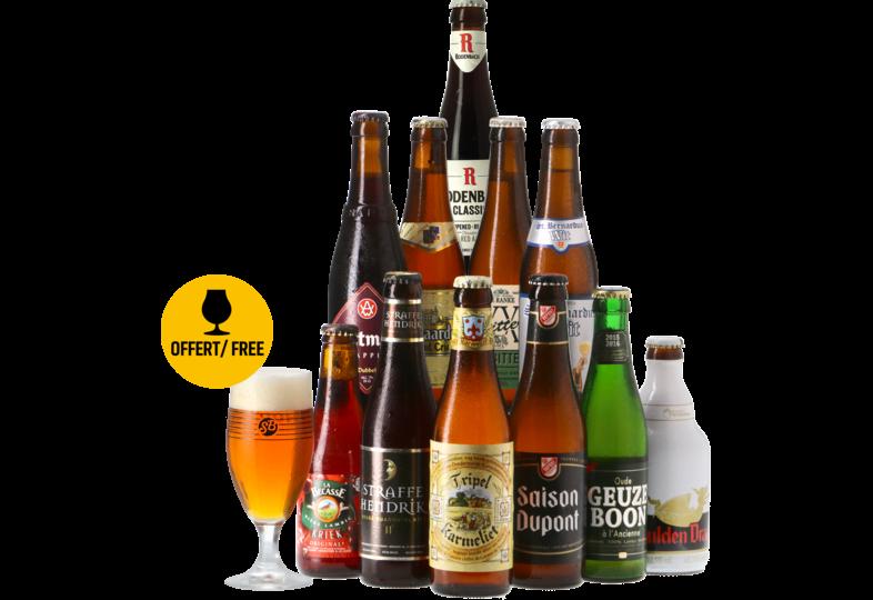 Dozen - Beste Belgische Bieren speciaalbier pack -12x33cl