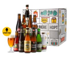 HOPT biergeschenken - Beste Belgische Bieren bierpakket -11x33cl
