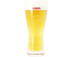 Verres à bière - Verre plat Kirin Ichiban - 25 cl