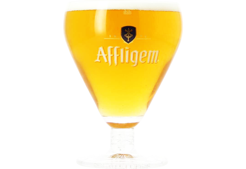 Beer glasses - Affligem 33cl goblet glass