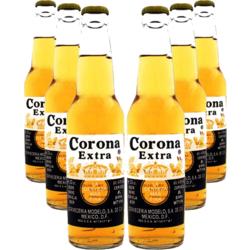 Bonnes Affaires - Bière & verre - Pack 6 Corona