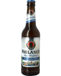 Flessen - Paulaner Hefe Weissbier Zonder Alcohol