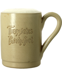 Beer glasses - Trappistes de Rochefort 33cl ceramic earthenware glass