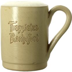 Beer glasses - Trappistes de Rochefort 33cl ceramic earthenware glass