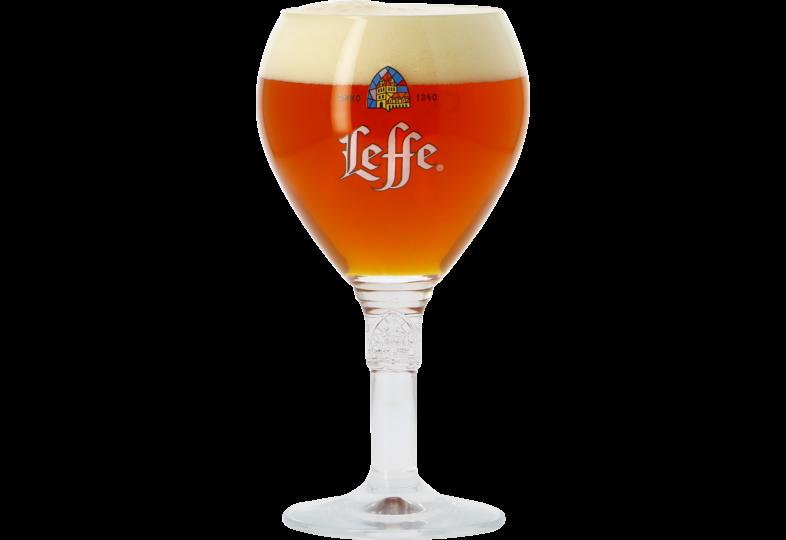 Beer glasses - Leffe 33cl goblet glass