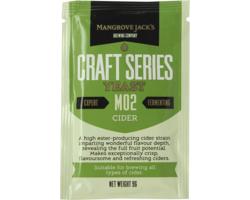 Levures de brassage - Hefe Mangrove Jack's Cider M02 10g
