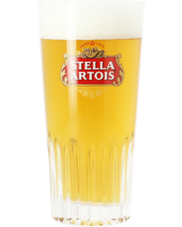 Verres à bière - Verre Stella Artois strié - 25 cl
