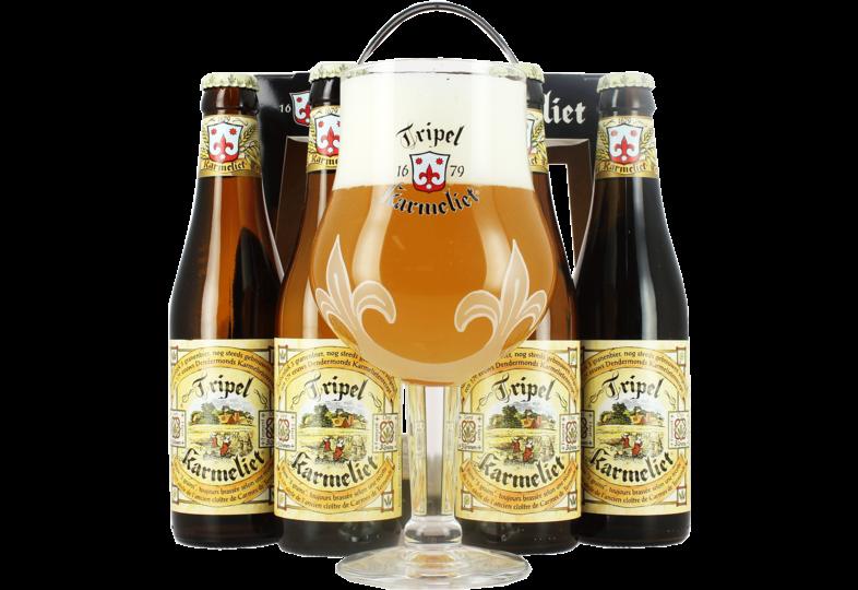Coffrets cadeaux verre et bière - Tripel Karmeliet Confezione Regalo