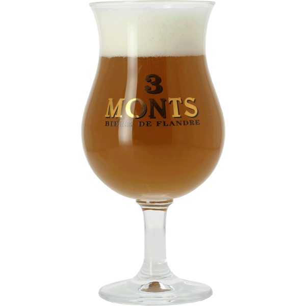 3 Monts 25cl Tulip glass