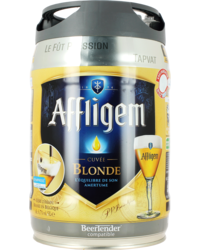Bier Tapvatjes - 5 liter Affligem Tapvat
