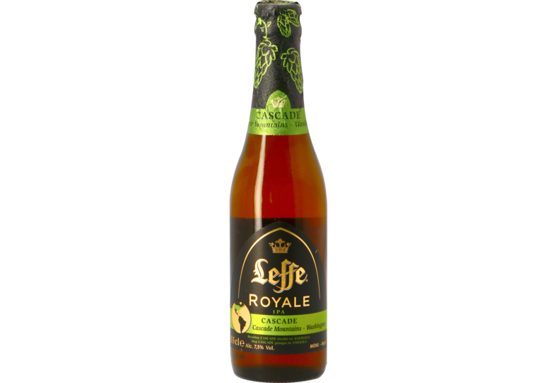 Bottled beer - Leffe Royale Cascade IPA