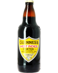 Flessen - Guinness West Indies Porter