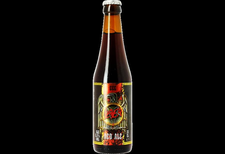 Bottled beer - Slayer 666 Red Ale