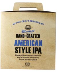 Kit à bière - Kit à bière Muntons Hand-Crafted American Style IPA