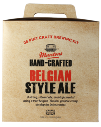 Kit da birra - Kit per birra Muntons Hand-Crafted Belgian Style Ale