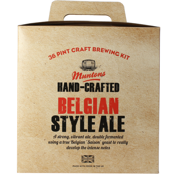 Muntons Hand-Crafted Belgian Style Ale Beer Kit