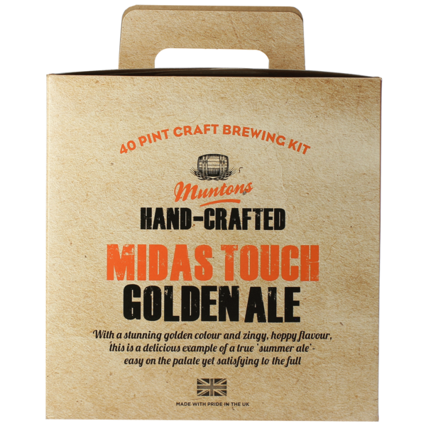 Muntons Hand-Crafted Midas Touch Golden Ale Beer Kit