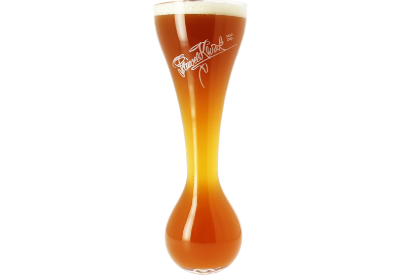 Beer glasses - Kwak glass without wooden base - 33 cl
