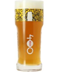Bierglazen - Glas Grolsch 400 jaar