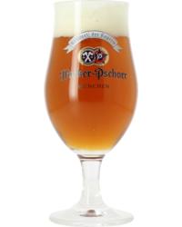 Beer glasses - Hacker-Pschorr stemmed glass