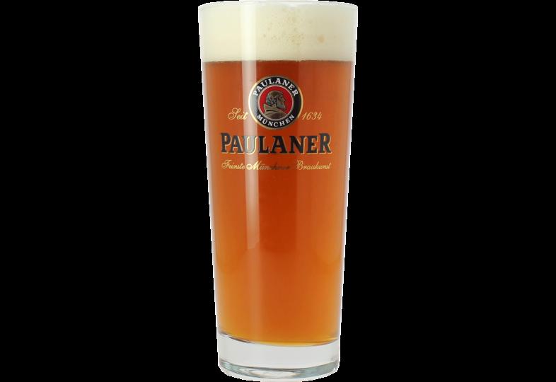 Beer glasses - Paulaner Frankonia - 50cl Stange Glass
