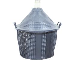 Dames-Jeannes - Damigiana da 34 litri con collo normale e con cesto
